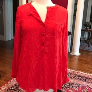 GUC hard to find red tunic Free People